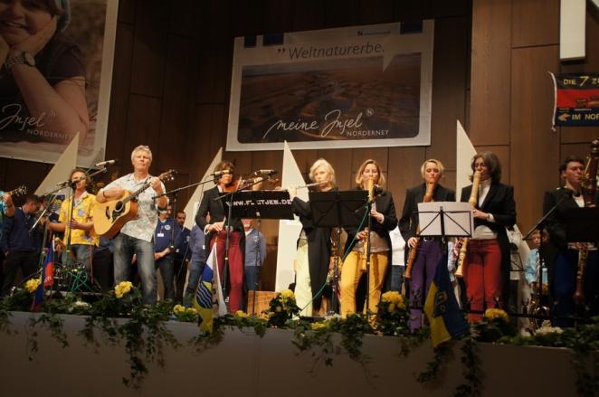Große Bühne auf Norderney